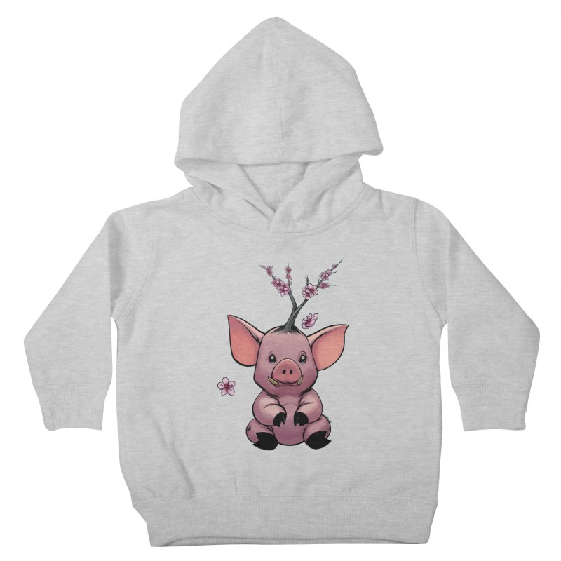 Lunar New Year 2019 Earth Pig Kids Toddler Pullover Hoody by weswongwithyou's Artist Shop
