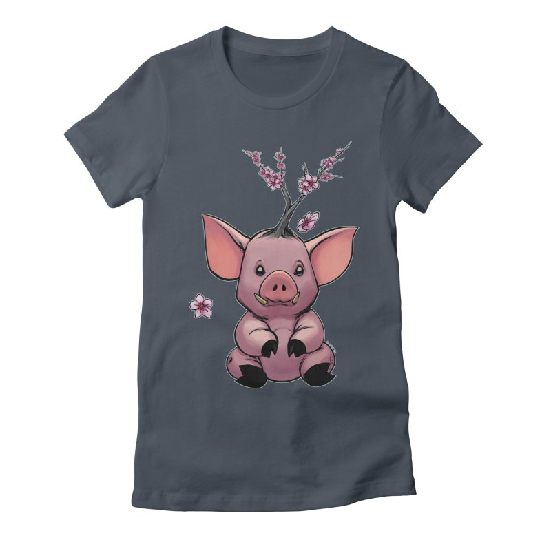 Lunar New Year 2019 Earth Pig Women's T-Shirt by weswongwithyou's Artist Shop