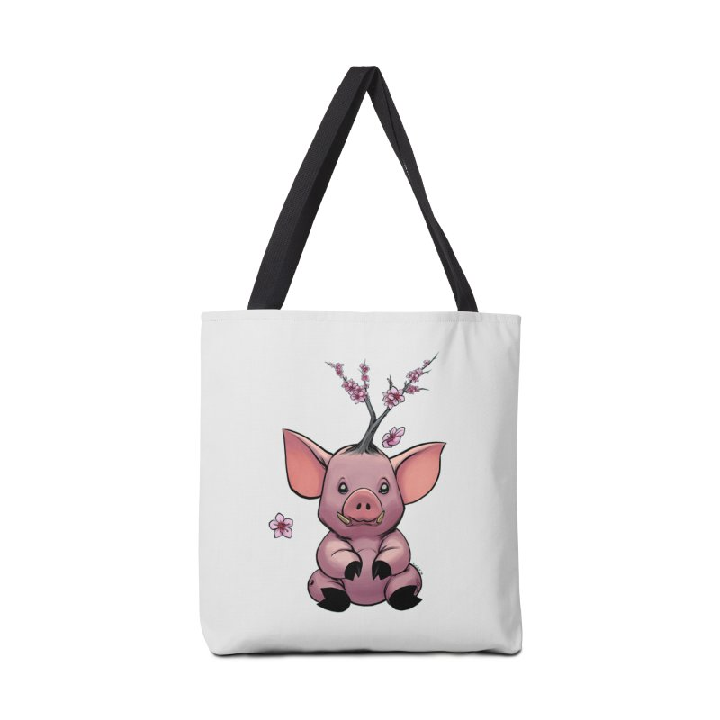 Lunar New Year 2019 Earth Pig Accessories Bag by weswongwithyou's Artist Shop