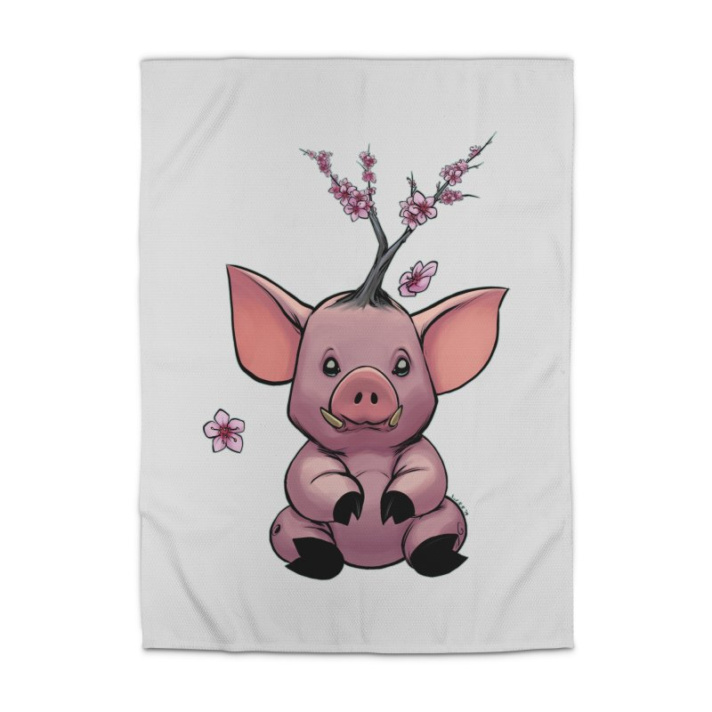 Lunar New Year 2019 Earth Pig Home Rug by weswongwithyou's Artist Shop