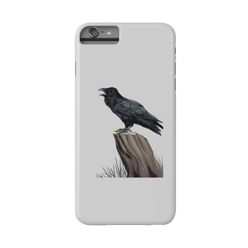 Raven Accessories Phone Case by weswongwithyou's Artist Shop