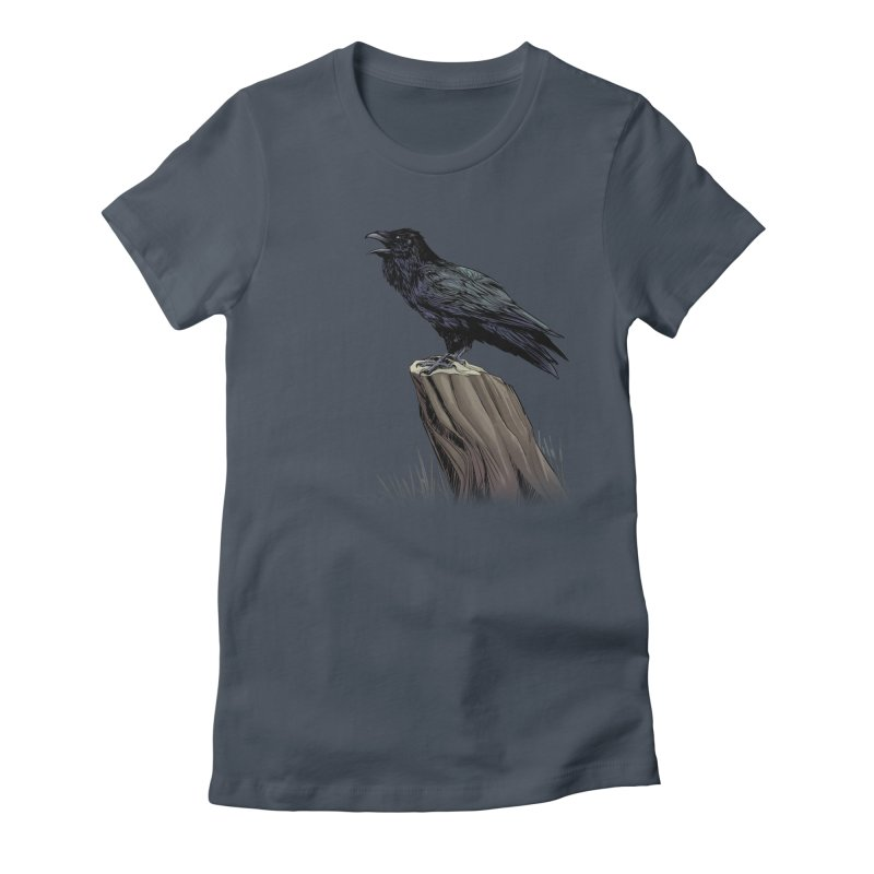 Raven Women's T-Shirt by weswongwithyou's Artist Shop