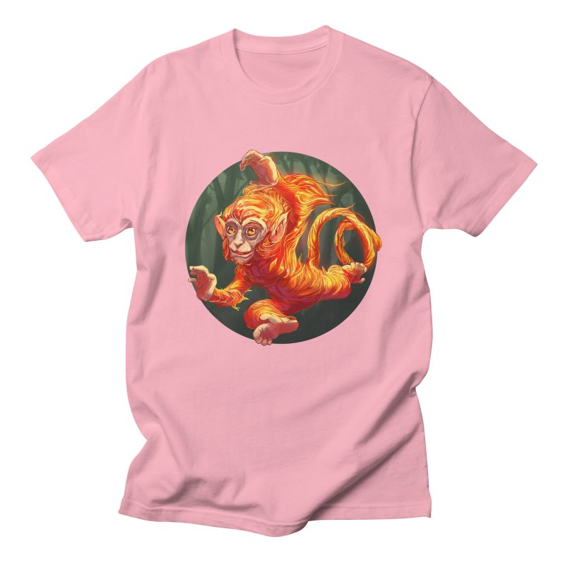 Year of the Fire Monkey Men's T-Shirt by weswongwithyou's Artist Shop