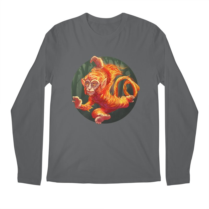Year of the Fire Monkey Men's Longsleeve T-Shirt by weswongwithyou's Artist Shop