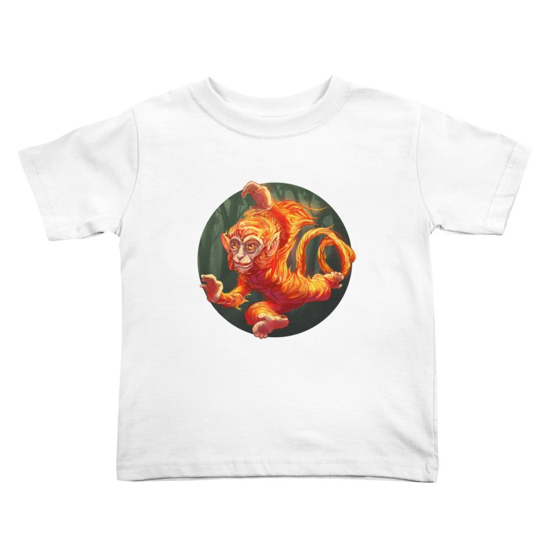 Year of the Fire Monkey Kids Toddler T-Shirt by weswongwithyou's Artist Shop