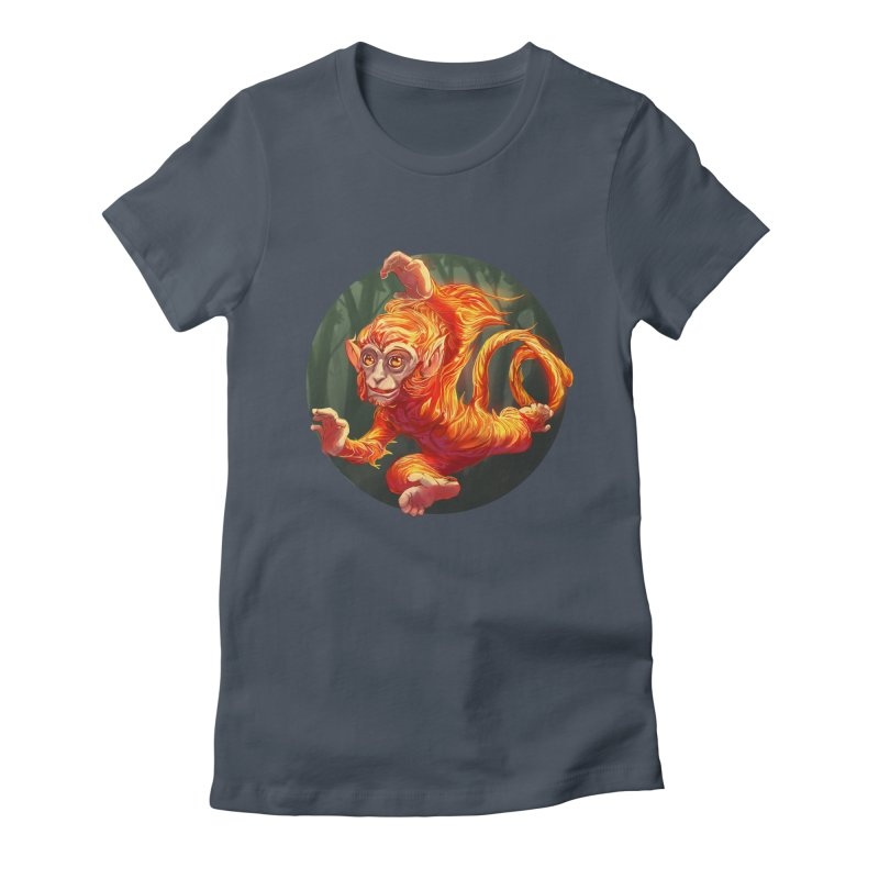 Year of the Fire Monkey Women's T-Shirt by weswongwithyou's Artist Shop
