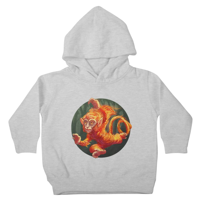 Year of the Fire Monkey Kids Toddler Pullover Hoody by weswongwithyou's Artist Shop