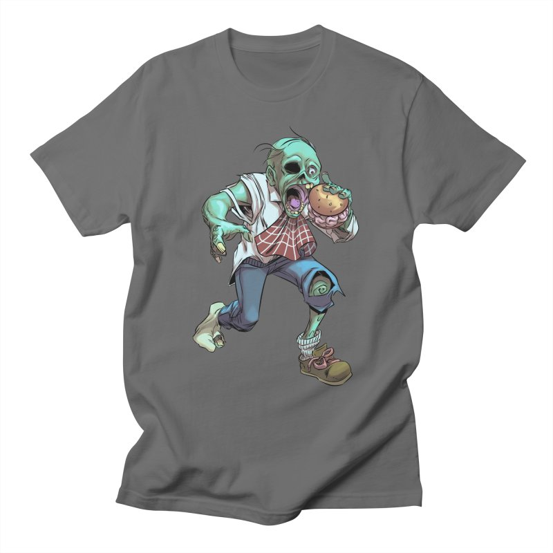 Hungry Zombie Men's T-Shirt by weswongwithyou's Artist Shop