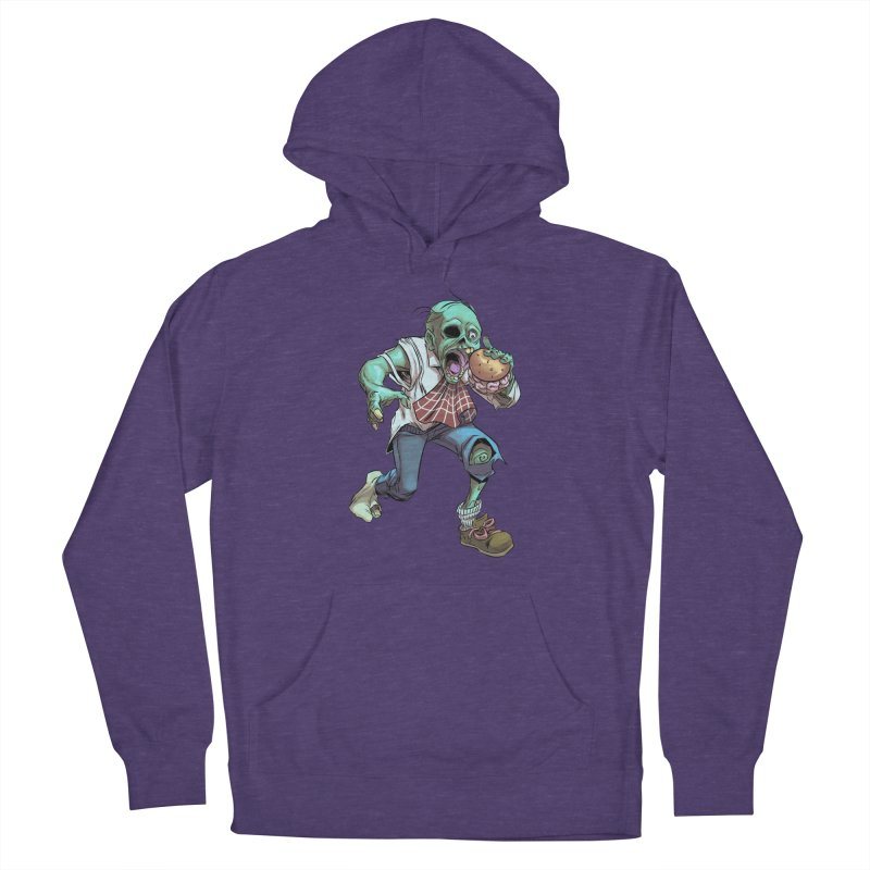 Hungry Zombie Men's Pullover Hoody by weswongwithyou's Artist Shop