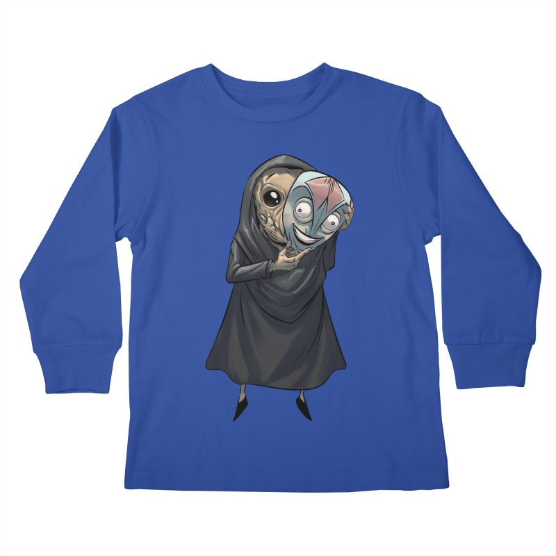 Mask Kids Longsleeve T-Shirt by weswongwithyou's Artist Shop