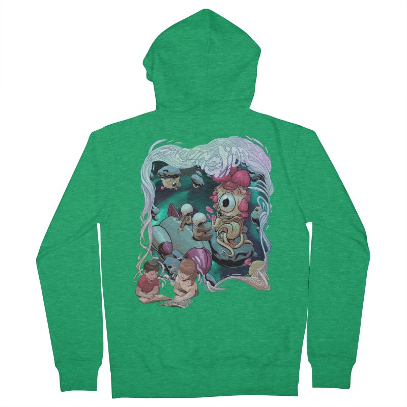 Imagination - Sci Fi Men's Zip-Up Hoody by weswongwithyou's Artist Shop