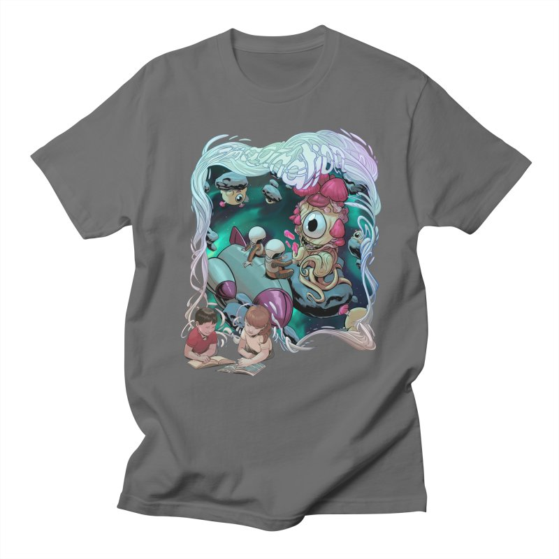 Imagination - Sci Fi Men's T-Shirt by weswongwithyou's Artist Shop