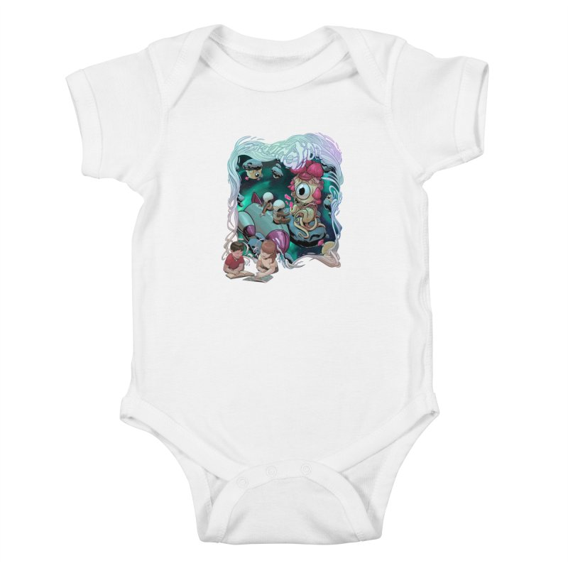 Imagination - Sci Fi Kids Baby Bodysuit by weswongwithyou's Artist Shop