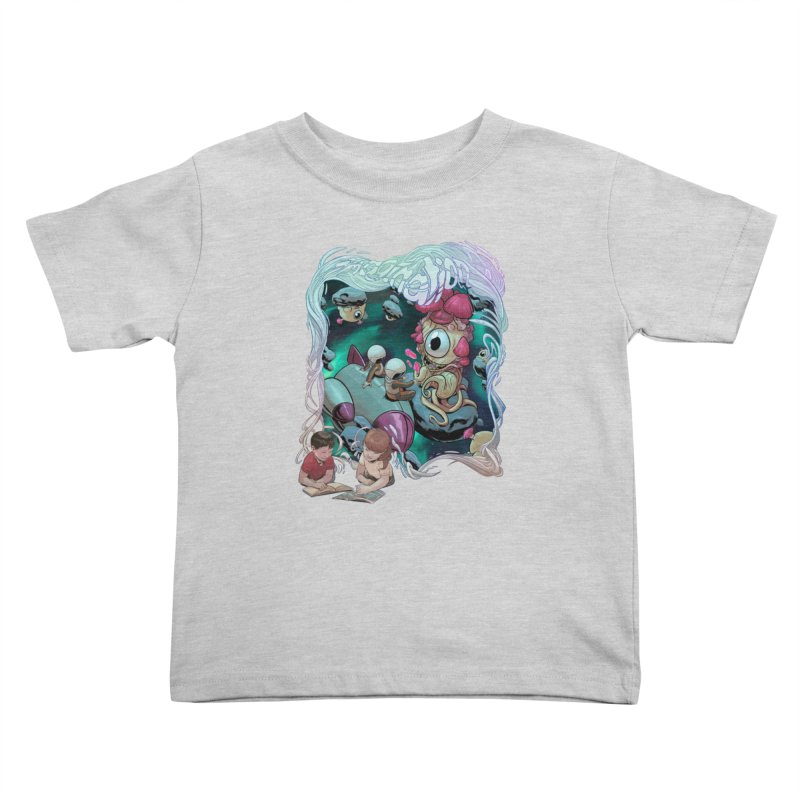 Imagination - Sci Fi Kids Toddler T-Shirt by weswongwithyou's Artist Shop