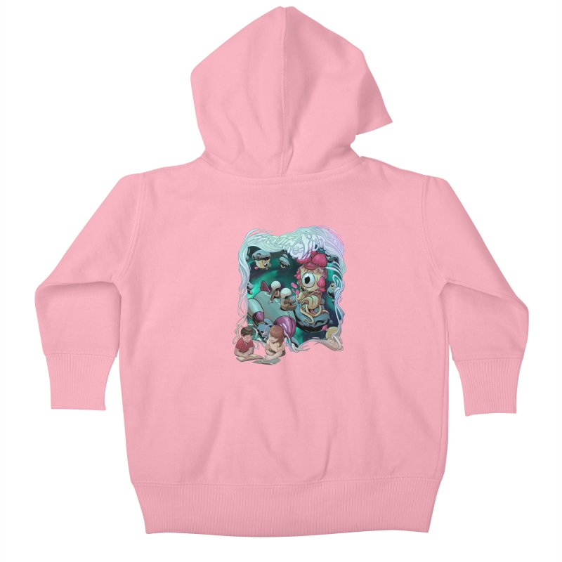 Imagination - Sci Fi Kids Baby Zip-Up Hoody by weswongwithyou's Artist Shop