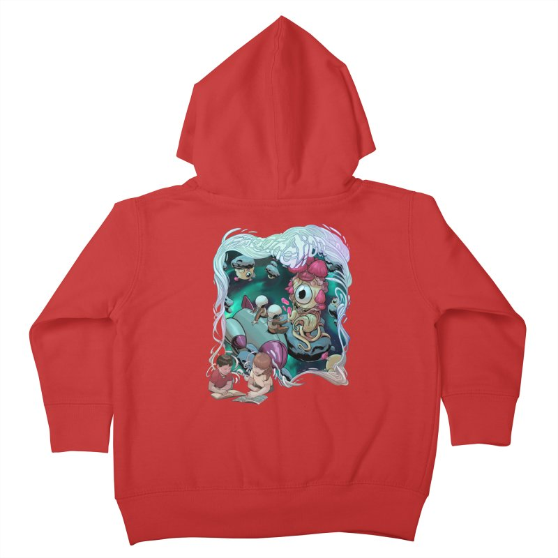 Imagination - Sci Fi Kids Toddler Zip-Up Hoody by weswongwithyou's Artist Shop