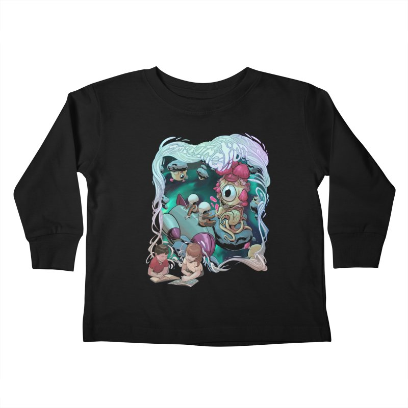 Imagination - Sci Fi Kids Toddler Longsleeve T-Shirt by weswongwithyou's Artist Shop