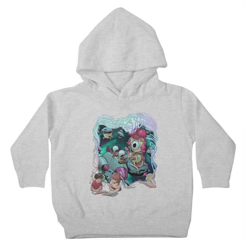 Imagination - Sci Fi Kids Toddler Pullover Hoody by weswongwithyou's Artist Shop