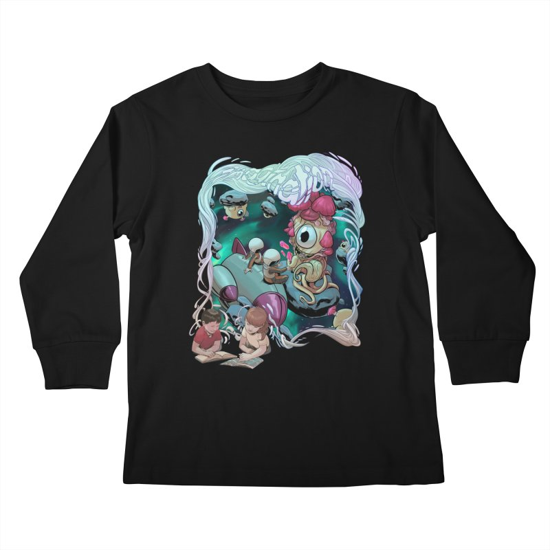 Imagination - Sci Fi Kids Longsleeve T-Shirt by weswongwithyou's Artist Shop