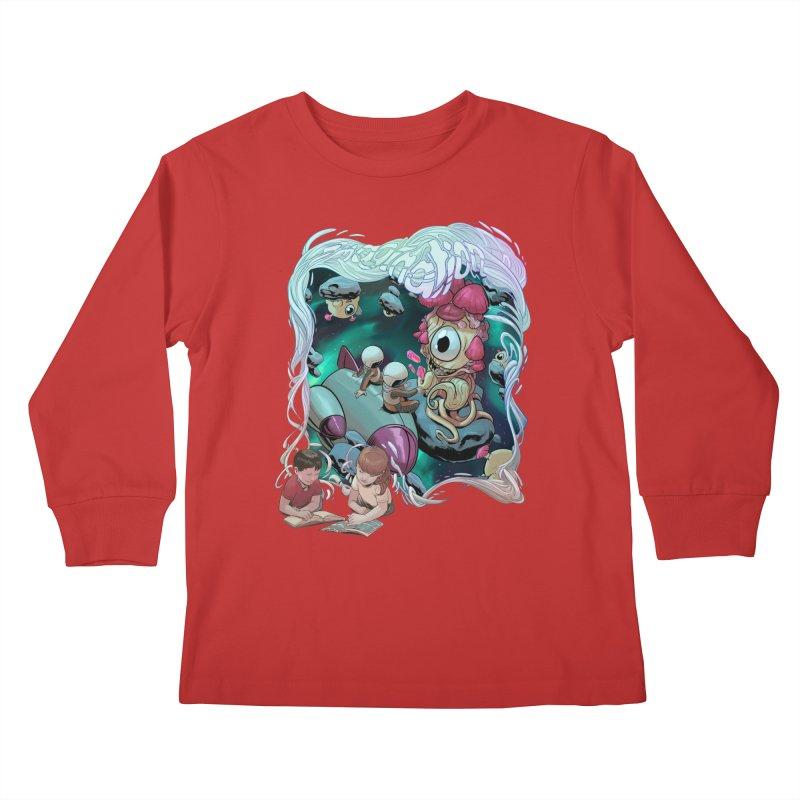 Imagination - Sci Fi Kids Longsleeve T-Shirt by weswongwithyou's Artist Shop