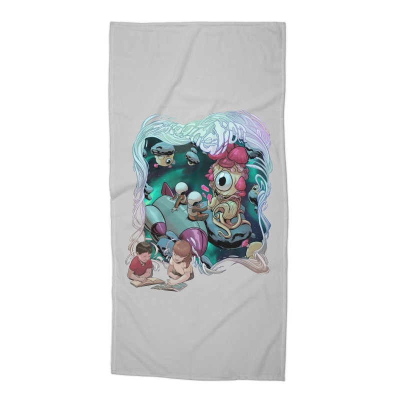 Imagination - Sci Fi Accessories Beach Towel by weswongwithyou's Artist Shop