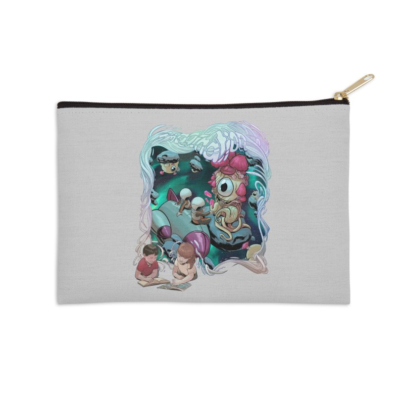 Imagination - Sci Fi Accessories Zip Pouch by weswongwithyou's Artist Shop