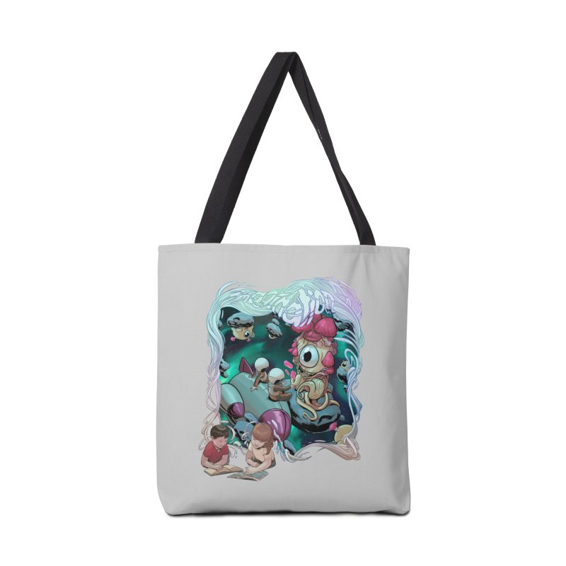 Imagination - Sci Fi Accessories Bag by weswongwithyou's Artist Shop