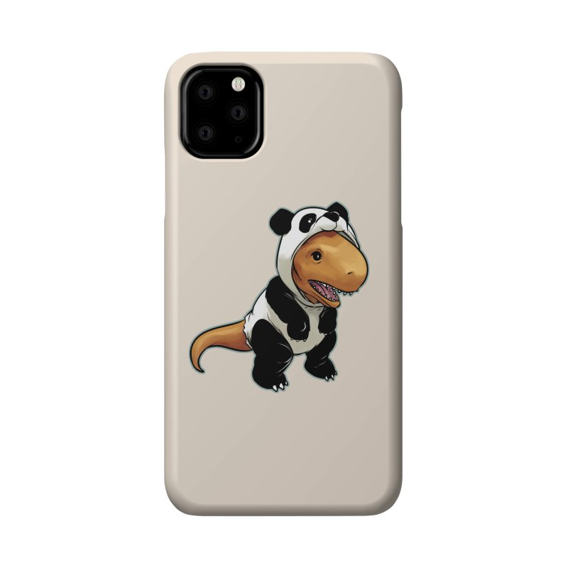 Panda-Suited Rex Accessories Phone Case by weswongwithyou's Artist Shop