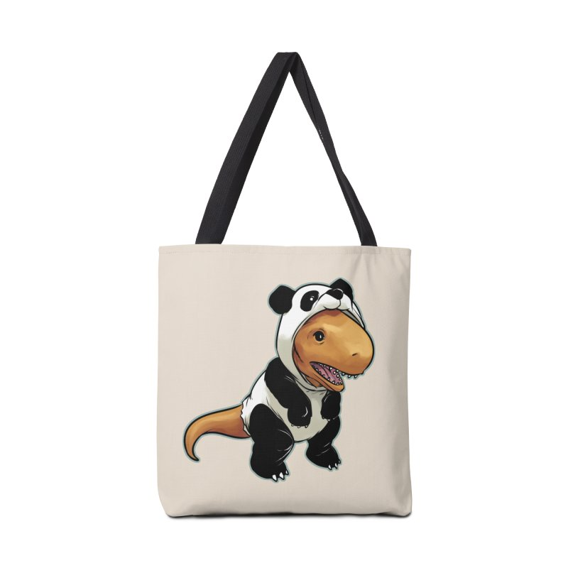 Panda-Suited Rex Accessories Bag by weswongwithyou's Artist Shop