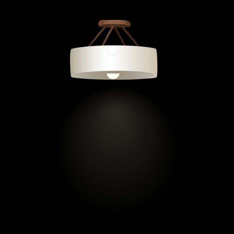 Glitch furniture ceilinglamp bronze ceiling lamp by Wetdryvac's Artist Shop