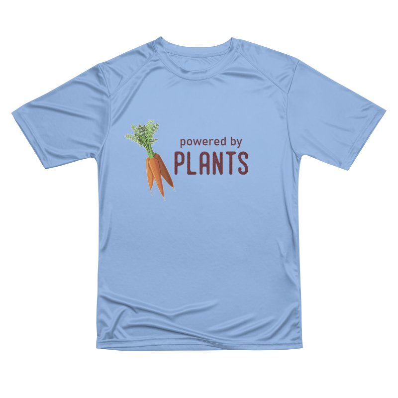 Powered by Plants Men's T-Shirt by Wet Silver's Artist Shop