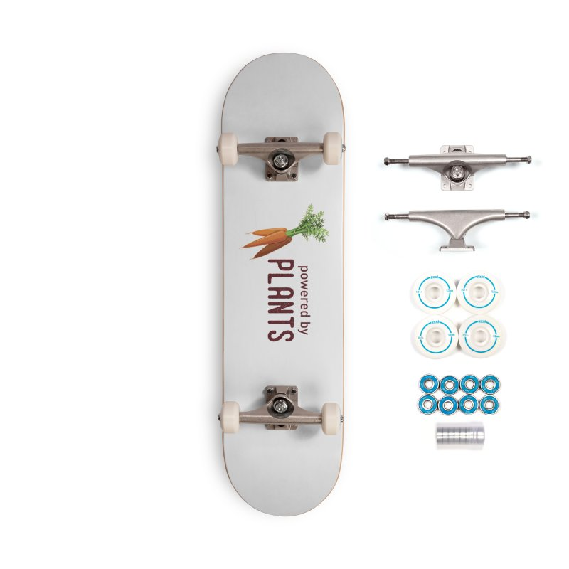 Powered by Plants Accessories Skateboard by Wet Silver's Artist Shop