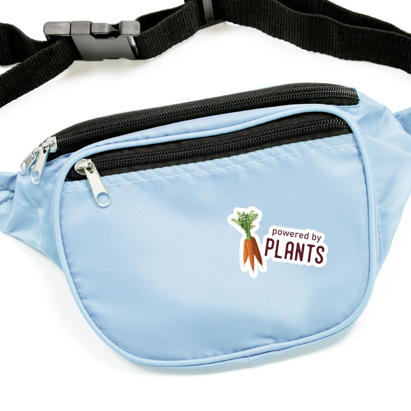 Powered by Plants Accessories Sticker by Wet Silver's Artist Shop