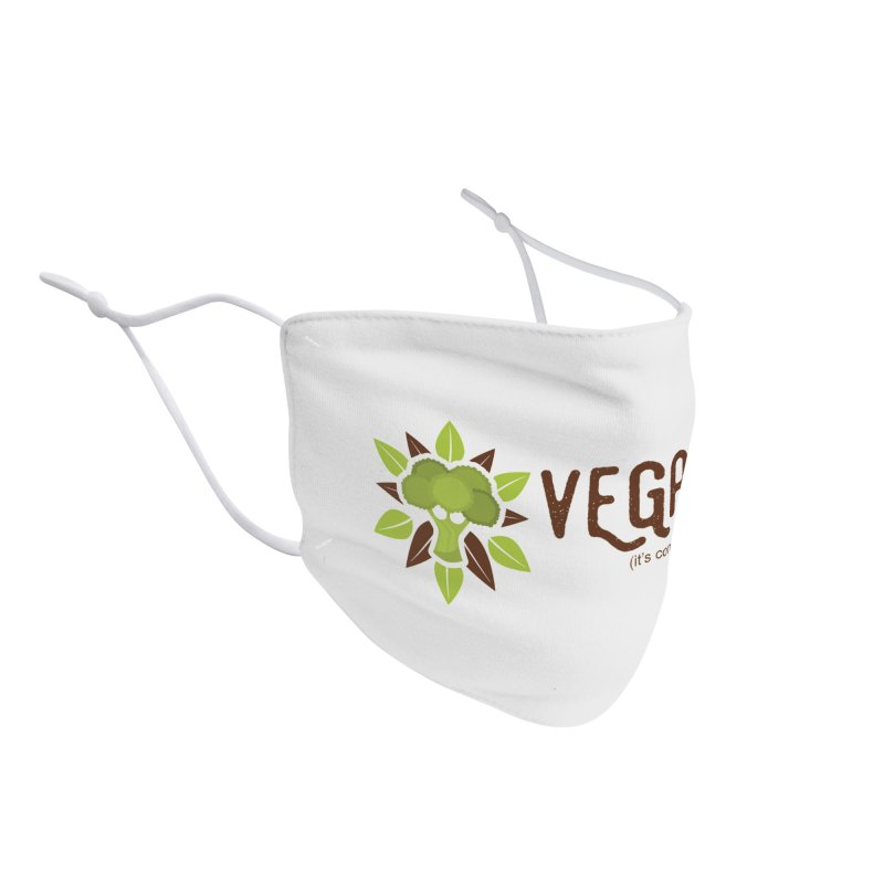 Vegan ...ish Accessories Face Mask by Wet Silver's Artist Shop