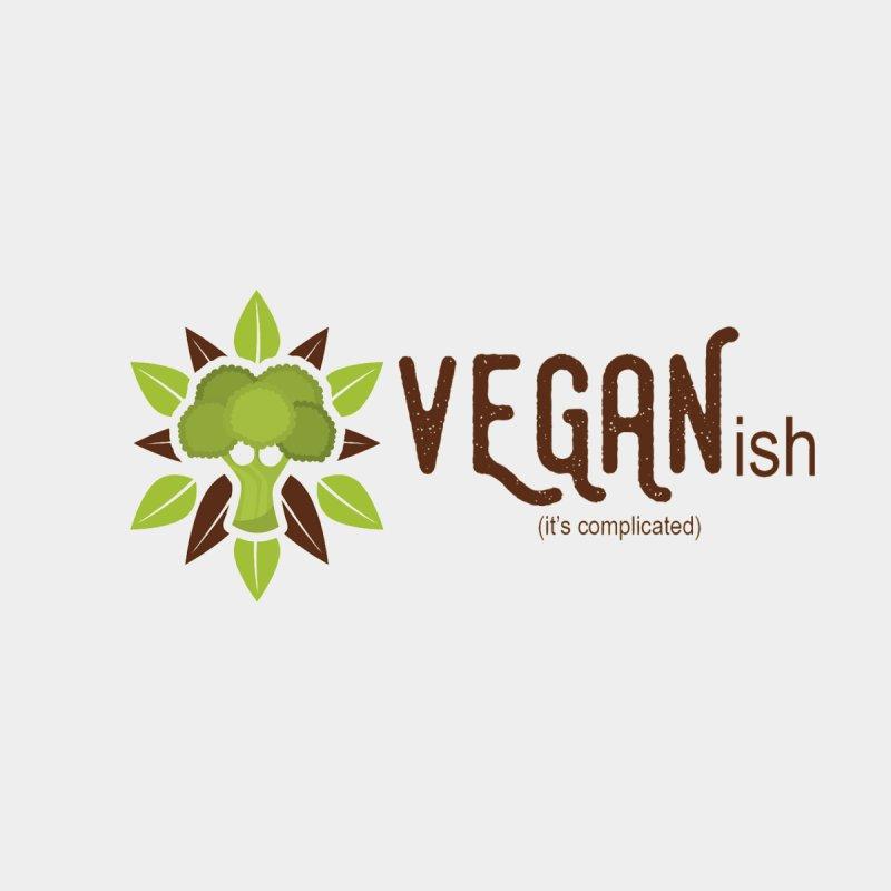Vegan ...ish Men's Longsleeve T-Shirt by Wet Silver's Artist Shop