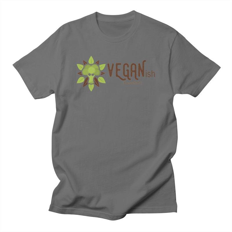 Vegan ...ish Men's T-Shirt by Wet Silver's Artist Shop