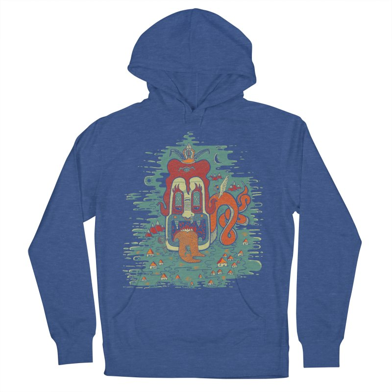 Serpiente Men's Pullover Hoody by wetzka's Artist Shop