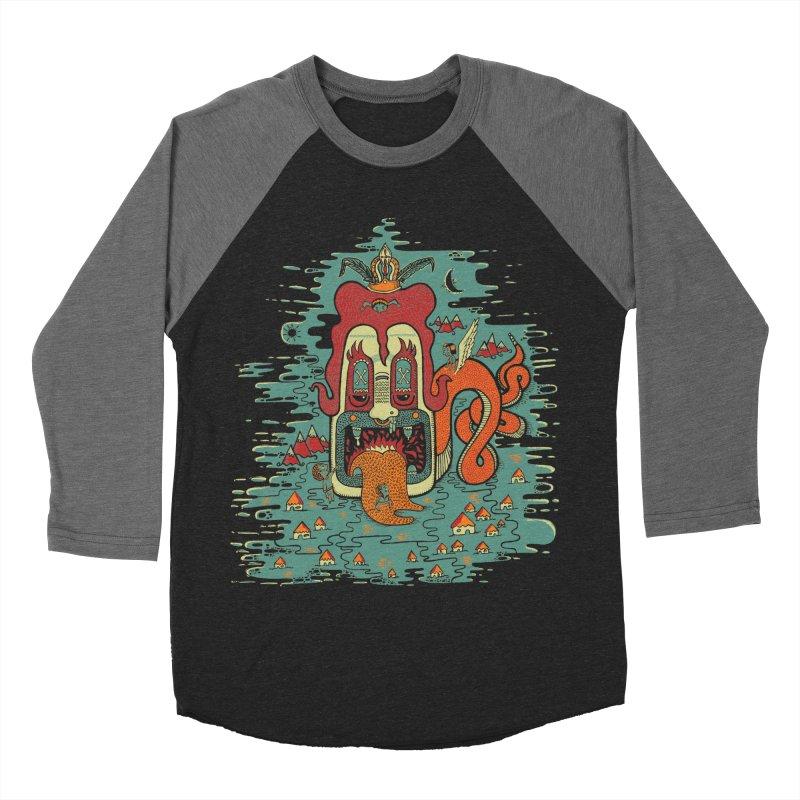 Serpiente Women's Baseball Triblend T-Shirt by wetzka's Artist Shop