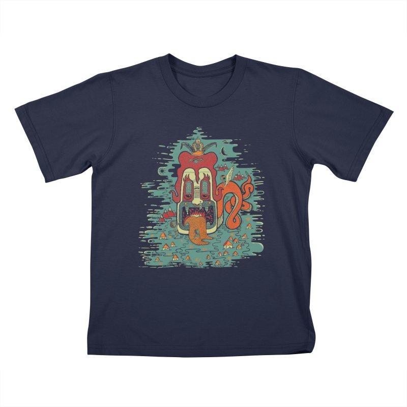 Serpiente Kids T-shirt by wetzka's Artist Shop