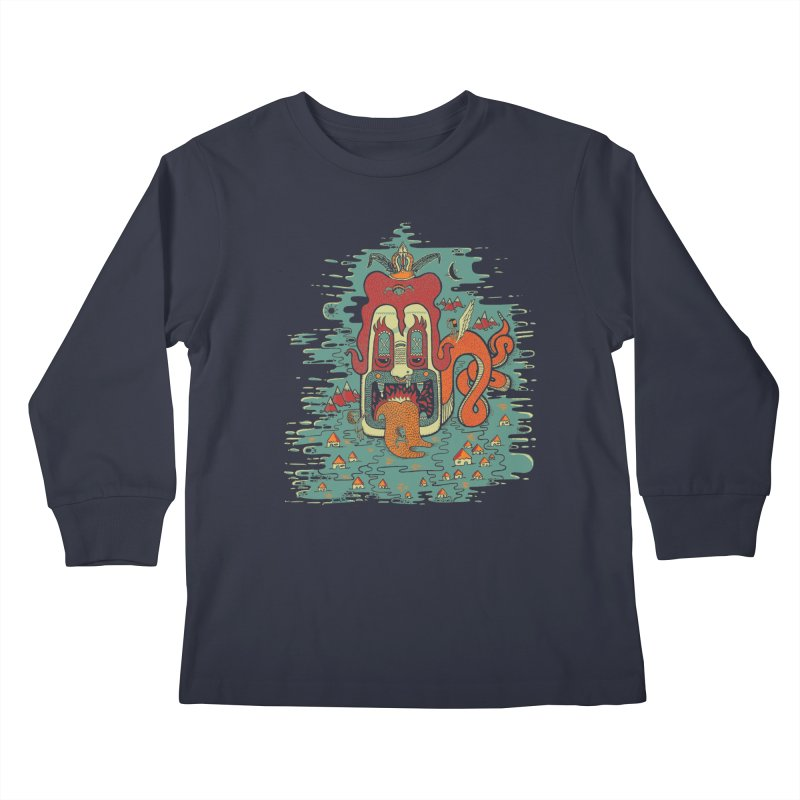 Serpiente Kids Longsleeve T-Shirt by wetzka's Artist Shop