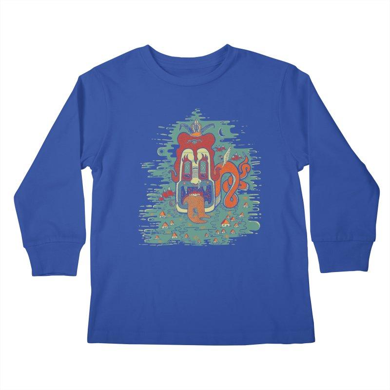 Serpiente Kids Longsleeve T-Shirt by wetzka's Artist Shop