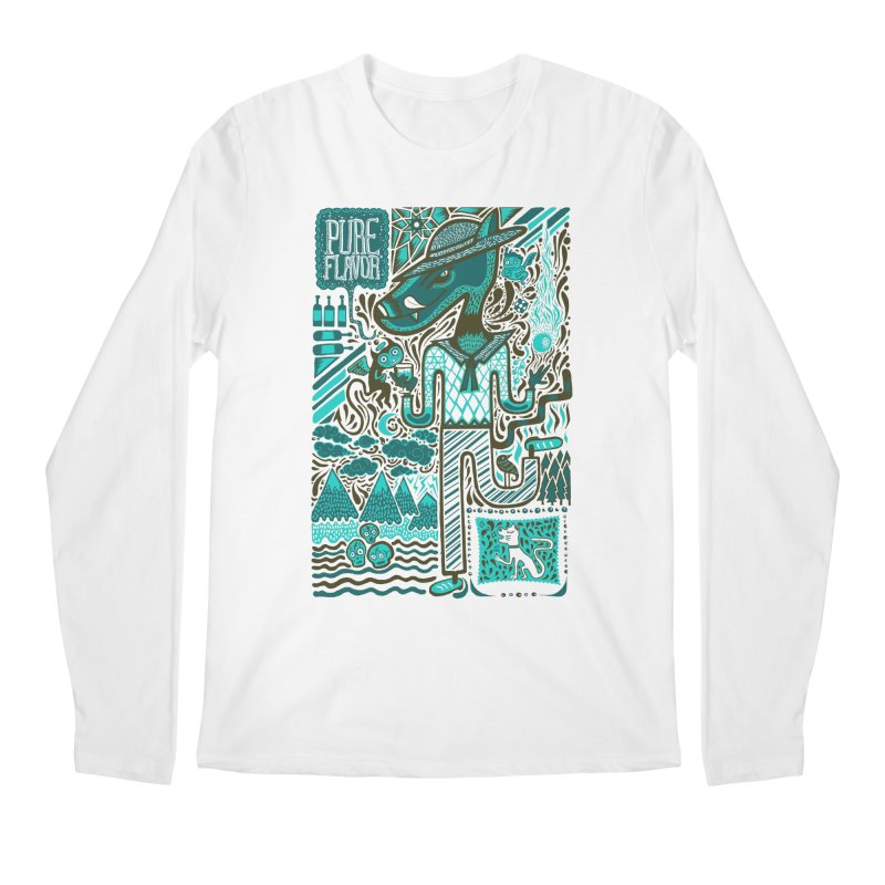 sabor puro Men's Longsleeve T-Shirt by wetzka's Artist Shop