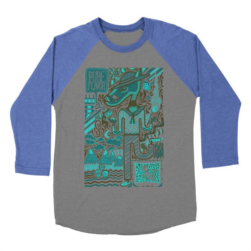 sabor puro Women's Baseball Triblend T-Shirt by wetzka's Artist Shop