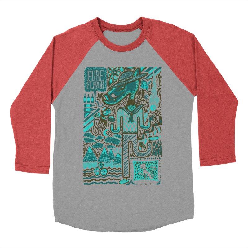 sabor puro Men's Baseball Triblend T-Shirt by wetzka's Artist Shop