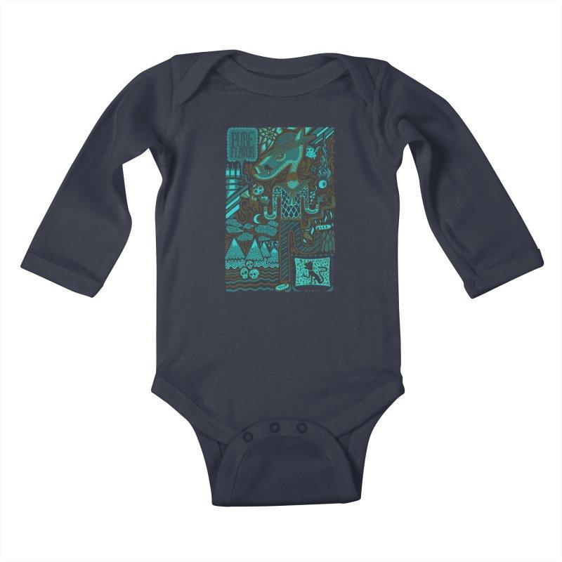sabor puro Kids Baby Longsleeve Bodysuit by wetzka's Artist Shop