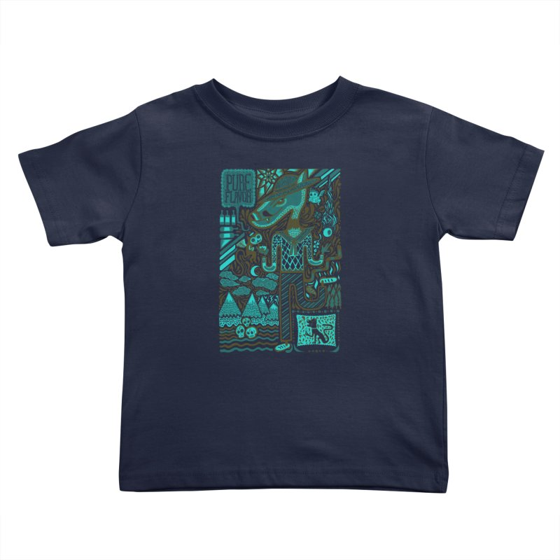 sabor puro Kids Toddler T-Shirt by wetzka's Artist Shop