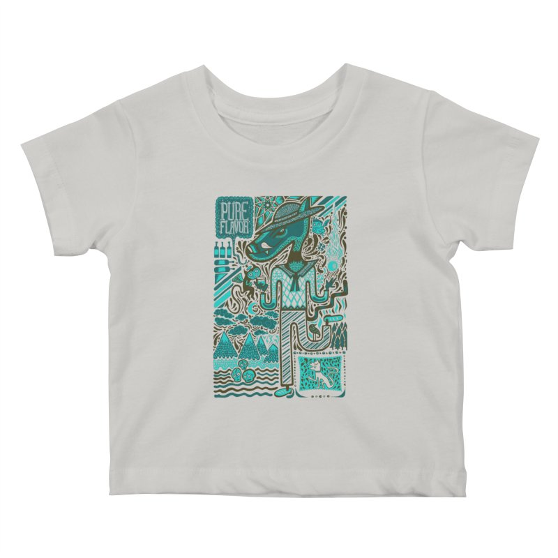 sabor puro Kids Baby T-Shirt by wetzka's Artist Shop