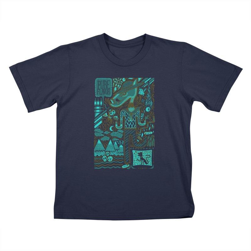 sabor puro Kids T-Shirt by wetzka's Artist Shop