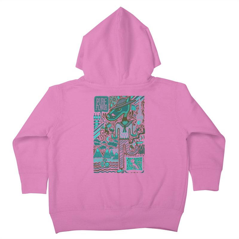 sabor puro Kids Toddler Zip-Up Hoody by wetzka's Artist Shop