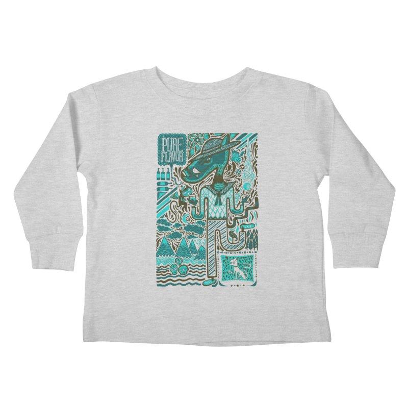 sabor puro Kids Toddler Longsleeve T-Shirt by wetzka's Artist Shop